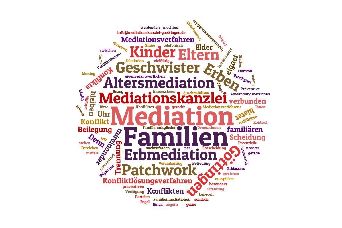 Mediation in und zwischen Familien und Patchworkfamilien