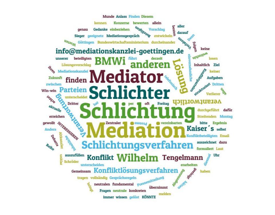 Mediatoren haben andere Aufgaben als Schlichter